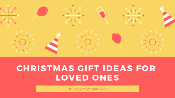 Christmas gift ideas for loved ones