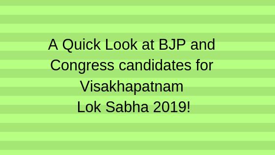Visakhapatnam Lok Sabha 2019