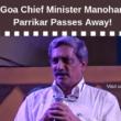 Goa Chief Minister Manohar Parrikar