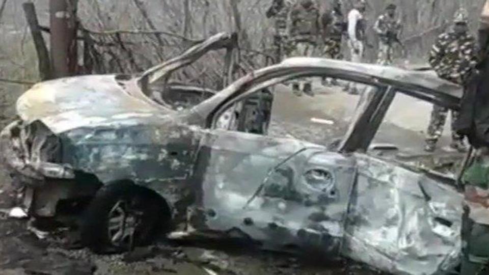 car blast in Jammu Kashmir